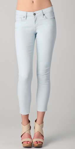 Paige Denim Kylie Raw Hem Cropped Jeans