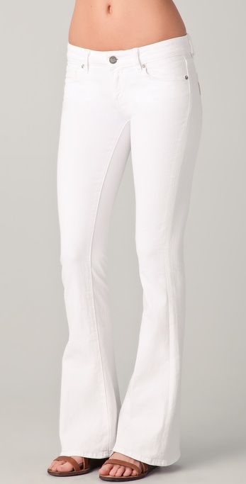 Paige Denim Lou Lou Petite Skinny Flare Jeans