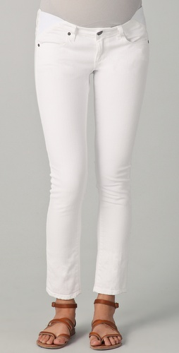 Paige Denim Union Skyline Peg Maternity Jeans
