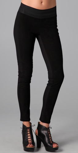 Paige Denim Paloma Suede Leggings