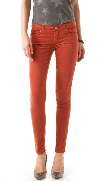 Paige Denim Verdugo Ultra Skinny Corduroy Pants