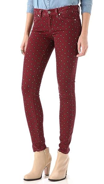 Paige Denim Geo Verdugo Ultra Skinny Jeans