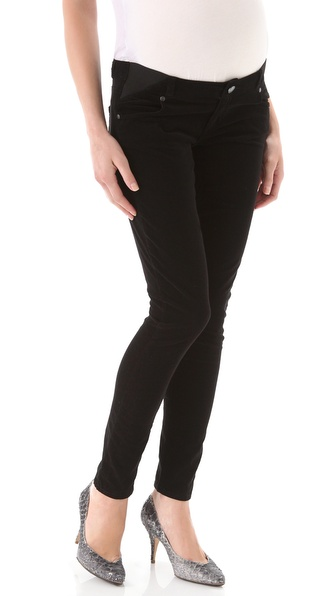 Paige Denim Maternity Verdugo Ultra Skinny Corduroy Pants