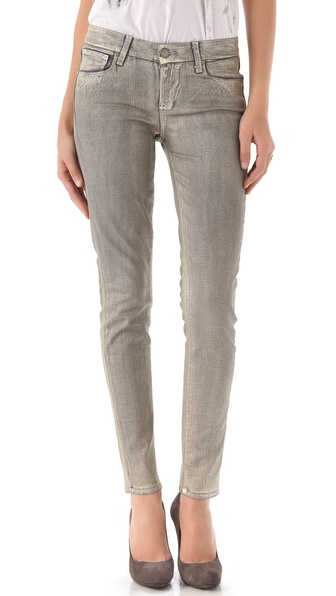 Paige Denim Coated Verdugo Ultra Skinny Jeans