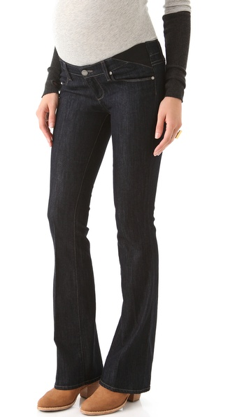 Paige Denim Maternity Union Skyline Boot Cut Jeans