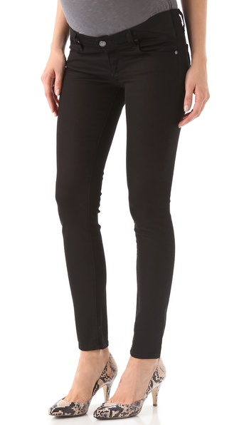 Paige Denim Maternity Union Verdugo Skinny Jeans