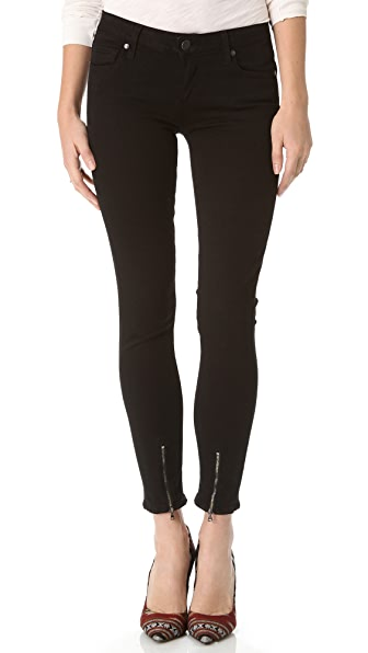 Paige Denim Ziggy Zip Jeans