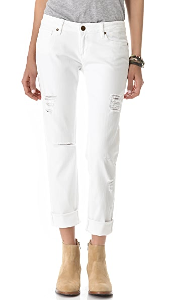 Paige Denim Jimmy Jimmy Skinny Jeans with Rips