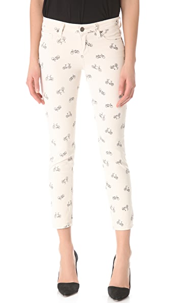 Paige Denim Kylie Cropped Retro Cruiser Skinny Jeans