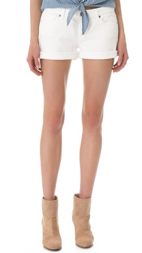Paige Denim Jimmy Jimmy Cutoff Shorts