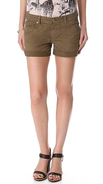 Paige Denim Jimmy Jimmy Twill Shorts