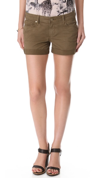 Paige Denim Jimmy Jimmy Twill Shorts