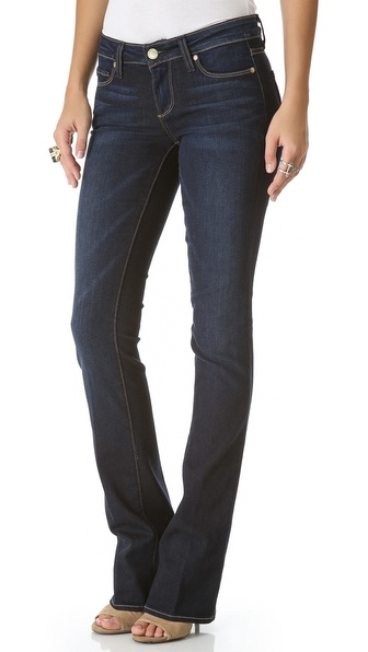 Paige Denim Manhattan Boot Cut Jeans