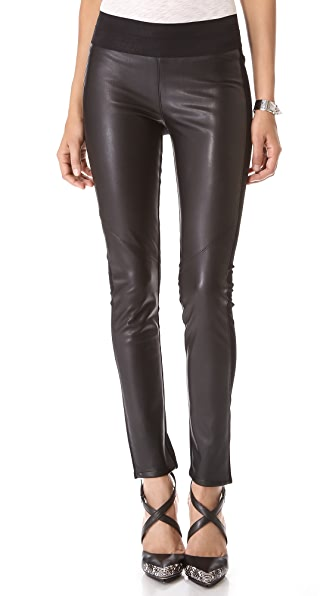 Paige Denim Paloma Vegan Leather Leggings