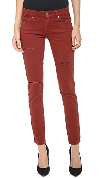 Paige Denim Skyline Ankle Peg Skinny Jeans