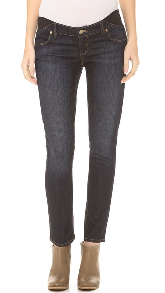 Paige Denim Skyline Ankle Peg Maternity Jeans