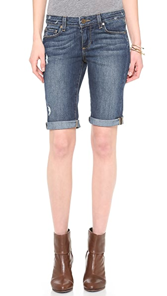 Paige Denim Jax Knee Shorts