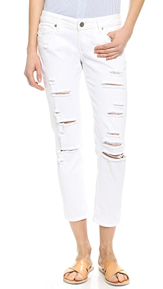 Paige Denim Jimmy Jimmy Cropped Jeans
