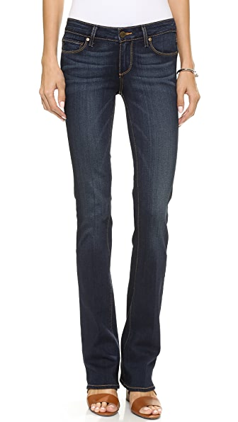 Paige Denim Transcend Manhattan Boot Cut Jeans