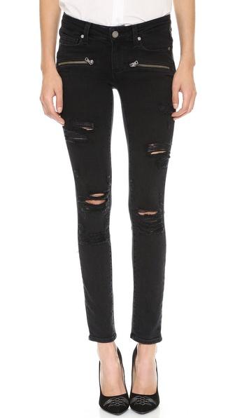 Paige Denim Indio Zip Ultra Skinny Jeans