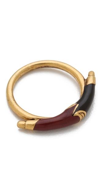 A Peace Treaty Maat Ring