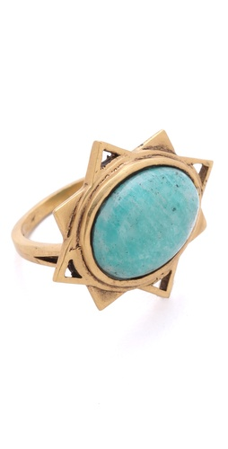 A Peace Treaty Badra Amazonite Ring