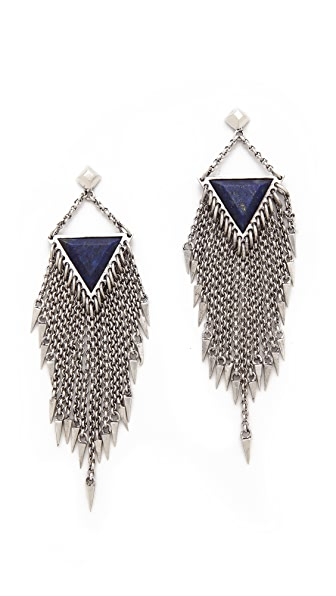 A Peace Treaty Laiyla Lapis Earrings