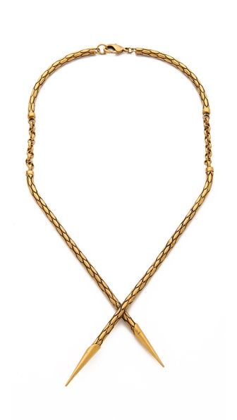 A Peace Treaty Chuo Crossover Spears Necklace