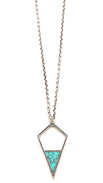 A Peace Treaty Dibeh Arrowhead Pendant Necklace
