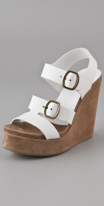 Pedro Garcia Teri Wedge Sandals