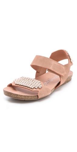 Pedro Garcia Juno Jeweled Sandals