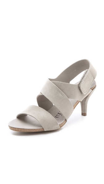Pedro Garcia Willow Low Heel Sandals - Pumice