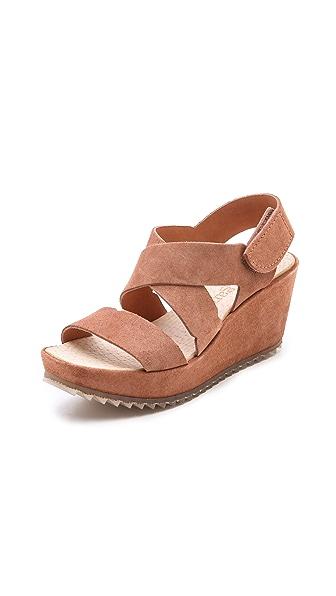 Pedro Garcia Fedra Low Wedge Sandals