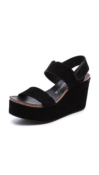 Pedro Garcia Dalma Wedge Sandals