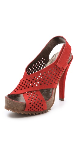 Pedro Garcia Caitlyn Platform Sandals at Shopbop / East Dane