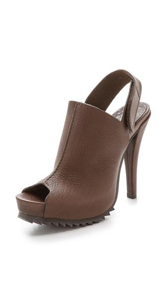Pedro Garcia Paulette Platform Sandals - Silt