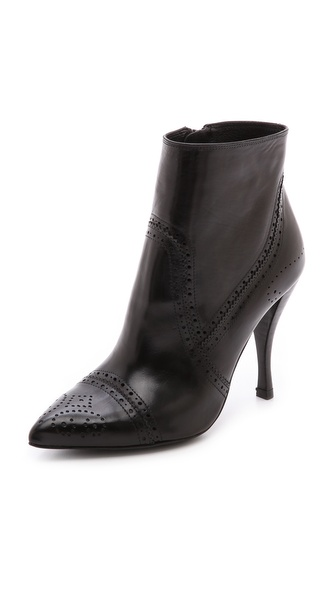 Pedro Garcia Harriet Booties - Black