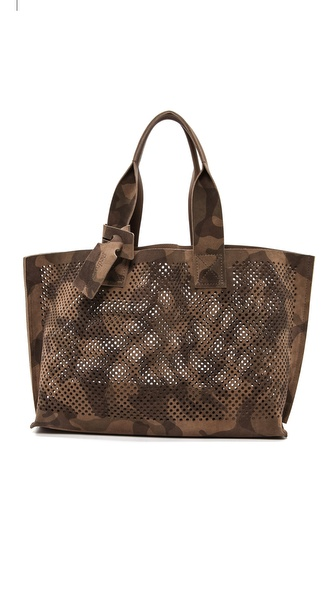 Pedro Garcia Perforated Camo Tote