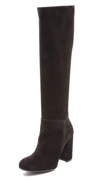 Pedro Garcia Beryl Tall Boots - Black