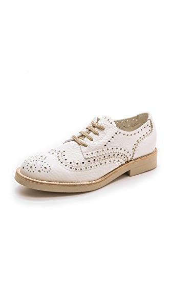 Pedro Garcia Kristy Oxfords - White