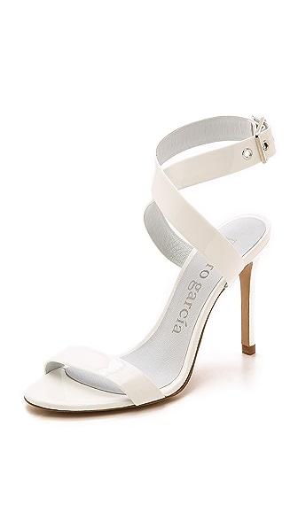 Pedro Garcia Cecily Glossy Sandals - Meringue