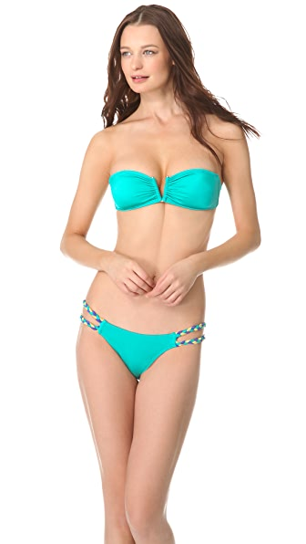 Peixoto Tito Bandeau Bikini Top