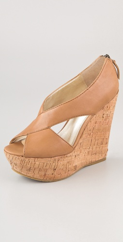 Pelle Moda Ivy Crisscross Wedges