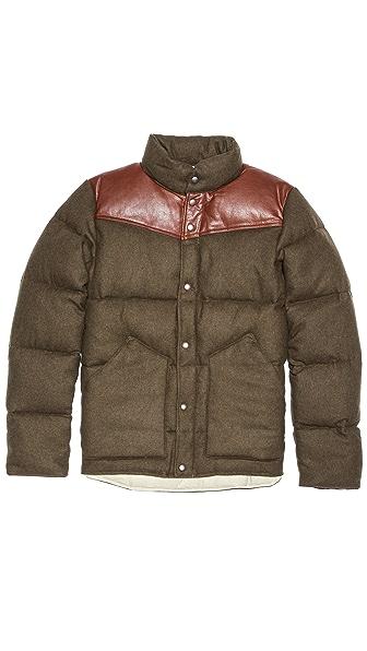 Penfield Gillman Tweed Melton Puffer Coat