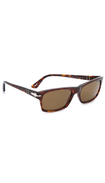 Persol Acetate Rectangular Sunglasses