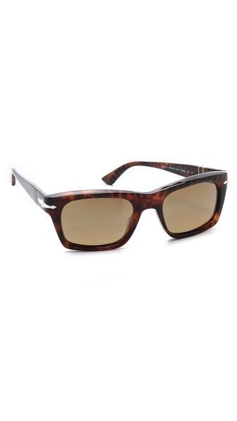 Persol Polarized Rectangular Sunglasses