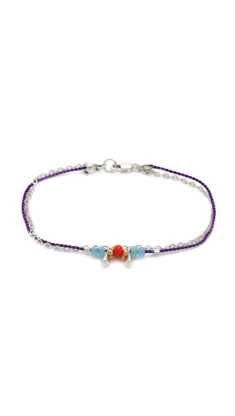 Petite Grand Cord & Chain Wrap Bracelet