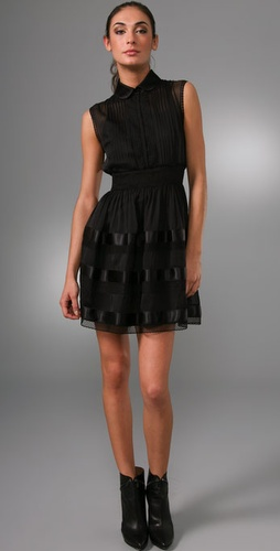 PHILOSOPHY DI ALBERTA FERRETTI High Collar Dress