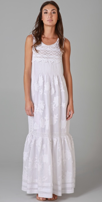PHILOSOPHY Sleeveless Dress with Lace