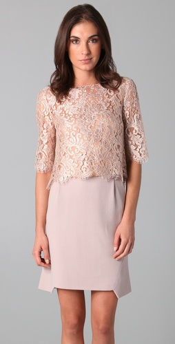 PHILOSOPHY DI ALBERTA FERRETTI Lace Crop Top